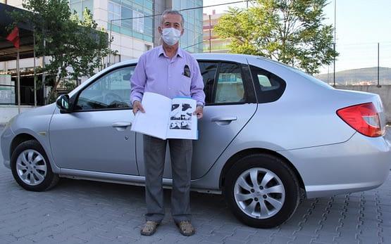 İzmir'de sıfır araç almıştı yıkarken fark etti! Görünce şaştı kaldı
