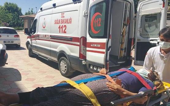 Adıyaman'da yürekler ağza geldi! Evin terasından düşen kadın yaralandı