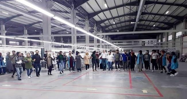 Tekstil fabrikasında doğum günü partisine 63 bin TL ceza