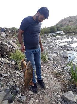 Jeneratörle balık avlarken akıma kapıldı
