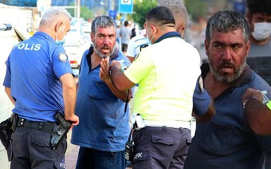 Antalya'da polislere zor anlar yaşattı!